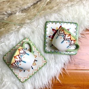 Catalina by Vida Eva Mendes Espresso Saucer Set